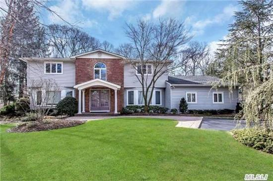 4000 Ft Exp Col In Prime Huntington Hills Sd#5.Quiet Head Of Cul De Sac Loc. Ci Kit Open To Fr. Expnded 15X11 Across. Updted Throughout.Tin Tile Ceiling (Dr)Andersen Windows, Huge Basement, W/ Loads Of Storage, Custom Painted Walls. 1200 Sqft Redwood Deck To Parklike 1.12 Acre Prop With Igp. Rm For Tennis Ct.