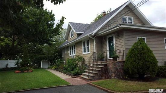 Spacious Cape, Ideal For Large Family, 4 Bdrms 2 Fbths, Half Acre, Hardwood Floors, Large Eik, Office Space, Full Basement W Ose.