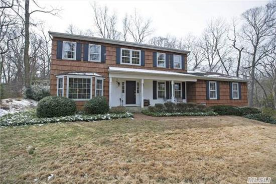Beautiful And Elegant Colonial! Updates Galore! Private Setting On 1.25 Acre Property!