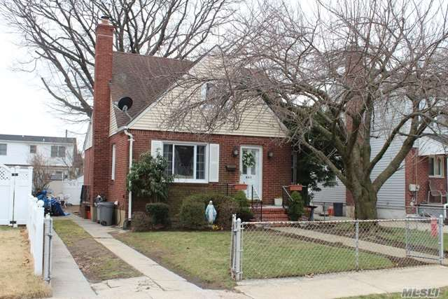 Expanded Cape Set On A Quiet Mid Block Street, Large Expanded Eat In Kitchen With Stainless Appliances, Large Master Bedroom, Full Finished Basement With Ose, Updates Include , Roof, Windows And Siding, Also Has A Brand New Hot Water Heater, Walking Distance To Polk Street School, Taxes W/Basic Star:$10, 145.00