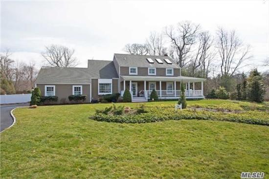Rare Opportunity, Magnificent 4 Bedroom Colonial With Stunning Water Views. Low Taxes.Meticulously Maintained In Beautiful Soundview Acres.New Kit Cori-An Counters, New 2.5 Baths, Fl Dr, Lr & Lg Den With Fp That Share An Entertaining Wet Bar. Wd Flr .Full Wraparound Mahogany Porch.Full Bsmt, Pt Fin, Lg Back Yard , Inground Pool , Wh House Generator