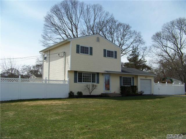 Beautifully Maintained 3 Br Colonial Featuring W/W Carpet, Wood Flr, Updated Baths - Freshly Painted, 1 Car And Partially Finished Bsmt.