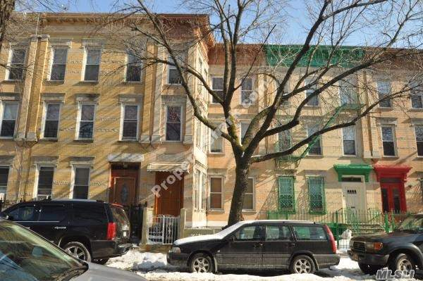 3 Family Investor Delight Excellent Condition 100% Brick, Nothing To Do, Located In The Upcoming Area Of Bushwick In Brooklyn Walking Distance To L & M Train, Buses, Shopping Area , School Etc...