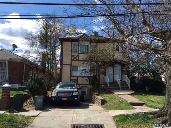 Large 2 Family , 3 Over 3, On Nice Lot In The Heart Of Whitestone. Interior Apartments Are All In Very Good Shape.  Huge Potential Here!