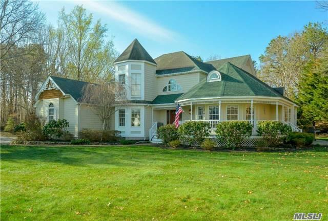 Stunning Cover Home For Good Housekeeping Nestled On 1.26 Privite Acres! Uptdt. Baths, Newer Cac & Hw Htr., Fresh Paint & Polished Oak Fls. Throughout. Chef's Kitchen W/Woodmode Maple Cabinets, Thermodor Appls & African Granite. 20' Ceilings, Mb Suite W/Antique Heart Pine Fls & Granite Bath. Shy 3000 Sq.Ft. + 1200 Sq.Ft. Fin Bsmt. Stone Patio/Walks. Low Taxes!