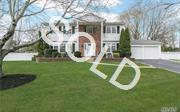 Fantastic Opportunity In Harborfields Sd 6! Beautiful 4 Br, 2.5 Bth Colonial Nestled On Shy 3/4 Acre. Features Updated Eik W/ Granite Counters & Walnut Cabinets & Updated Baths. Newer Heating System, Cac, Alarm, Igs, Private Fully Fenced Yd W/ Ample Room For Outdoor Activities. Relax On The Spacious Deck Or Soak In The Hot Tub. Make This Spacious House Your Next Home