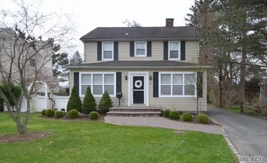 Proud To Show This Immaculate 3 Bedroom, 2.5 Bath Colonial! Ef, Lr W/Fpl, Fdr W/French Drs To Den, Eik W/Sliders To Deck, 1/2 Bath. 2nd Floor: Mstr Bdrm W/Full Bath & W/I Closet, 2 Addt. Bdrms, & Hall Bath. Beautiful Hardwood Floors Throughout. Full Finished Bsmnt W/Rec Rm, W/D & Utilities. Huge Yard W/3 Car Garage And Loft Space. A Must See!