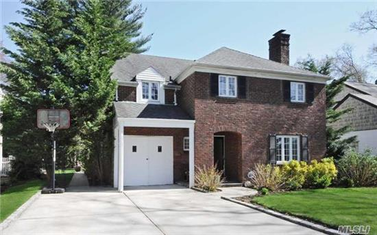 Fabulous 3/4 Br Brick Col. In Desirable Mott Section!!. Gracious Foyer With Rounded Staircase. New Designer Eik Adjacent To Mud Rm, Lr W/Fpl Opens To Spacious Fdr And Den Area. Lg. Master Suite With Priv. New Bth, Large 2nd Br, 2 Extra Brs Were Combined Into One. New Hall Bth, Great Rec Room In Bas, New Burner And Hw, Hwd Floors. All On 60X117 Priv.Prop.W/Patio+Gazebo