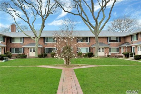 This Warm And Inviting Co Op Consists Of Liv/Din Room And Eik. 1Master Bedroom With 1 Full Bath . This 2nd Floor Unit Has A Nice Open Lay Out, Great For Entertaining.. Beautiful View Of The Manicured Courtyard. One Car Garage/Storage Is Included . Laundry Room Included. This Pet Friendly Community Is In Walking Distance To The Lirr And The Town Of Babylon.