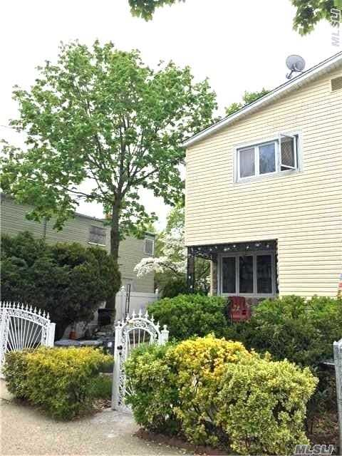 Beautiful Semi-Detach Home Located In Heart Of Bayside. This Home Offers 3 Bedroom, 1 Full Bath, 2 Half Baths, Full Renovated Kitchen, And Wood Floors Throughout. Driveway Hold Three Cars And Beautiful Yard For Planting And Gardening. Property Zoned R-3 And Actually Measures 32X100. Close To All Schools And Shopping. Owners Wants To Hear All Offers And Very Motivated.