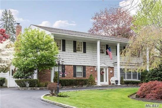 Totally Updated Riviera Colonial Set On A Park Like Half Acre W/Igp, Patio And Deck. Granite Kitchen, All Anderson Windows, Hardwood Floors, Finished Basement And More. A Must See In Northport Sd #4