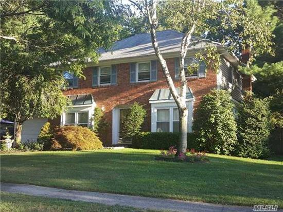 Stately Charter Oaks Center Hall Col On Most Desirable Street In Kings Park! Well Maintained W/Pride Of Ownership Featuring An Entry Foyer, Flr, Fdr, Den, Eik, 1st Fl Lndry W/Interior Gar Ent, Powder Rm, Mbr Suite W/Full Ba, Closets Galore, 3 Add'l Br's Full Ba. Flat .23 Acre. Here Is Your Opportunity To Own Among Manicured Properties With Sidewalks And Sewers As A Bonus.