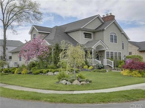 Turn Key, 5 Br, 4.5 Bth Colonial. Chef's Gourmet Eik Opens Into Fam Rm Richly Appointed With Builtins, Sunfilled, Closets Galore, 1st Fl Guest Suite, Master Br Suite On 2nd Floor With 3 Huge Walk In Closets + 3 Br's And 2 Full Baths, Natural Gas Fueled House Generator, Central Vac, Security Cameras, Maids Rm/Play Rm, Walk Up Attic, Lush Landscaping, Waverly Park Sd#20
