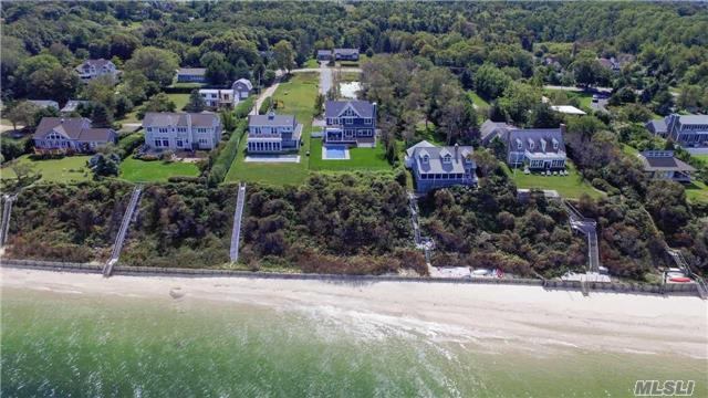 Gorgeous Soundfront New Traditional Home. Spend Your Summer Here. Kitchen Cabinets Being Installed And Bathroom Vanities Are Ordered. Sheetrock Is Up And Trim Being Installed.  Inground 16X32 Salt Water Pool With Variable Depth And Wide Stairs. Also Lovely Pond. Sandy Sound Beach.