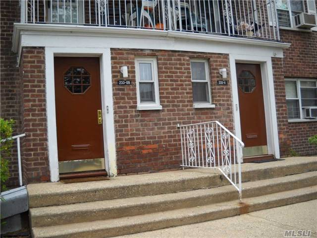 2 Bedroom Coop Apartment, 1 Full Bathroom, Updated Kitchen, Living Room/Dining Room