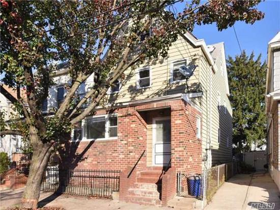 Gorgeous 2 Family Detached House Features 7 Bedrooms And 2 Full Baths (New Carpets And Hardwood Floors). Each Floor Is About 800 Sqft Which Excludes Size Of Basement And Attic. Excellent Location, The House Is Close To Schools, Supermarkets, And Transportation. Only 10 Min. Walking Distance To Train J& Z On Jamaica Ave, Train A On Liberty Ave. Bus Q24 Is On The Corner