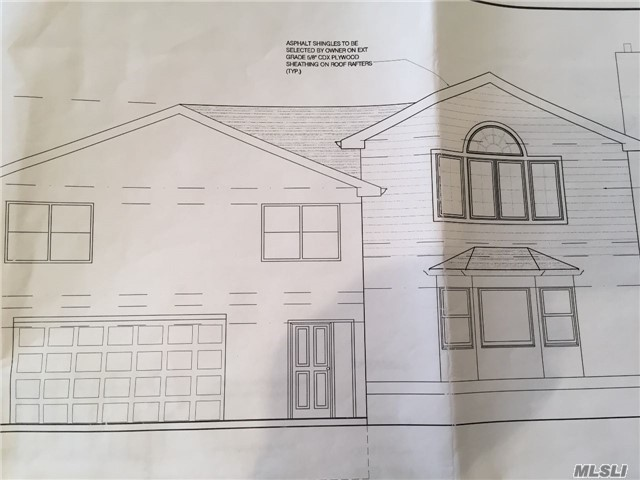 Brand New Remodeled Remodeled House With New Additions.  6 Bedrooms. Large Kosher Eik. Sliding Doors Lead To Deck And Private Yard. Near Shopping And Lirr. Can Customize Kitchen And Baths.