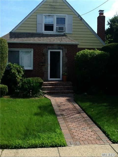 This Gorgeous Corner Lot Cape Boasts 4 Bedrooms, Full Bath, Renovated Kitchen, Fireplace, Hardwood Floors, Gas Cooking, Full Finished Basement With High Ceilings, New Roof, New Windows, Too Much To List! A Must See! Wont Last!!