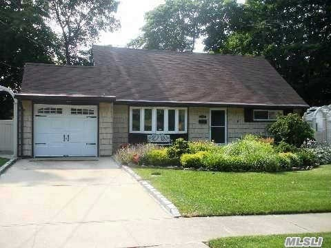 N. Syosset Mid Blk Location! 4 Br, 2 Bth Exp Cape, Paving Stone Entry, Lr W/Bow Windows, Dr Open To Lr, Exp & Redone Eik W/Center Isle & Corian Counters. Newer Windows & Roof, 150 Amp Elec, Radiant Heat 1st Fl Only - Upstairs Radiators - 2 Zone Oil H/W Heat, Above Ground Oil Tank. Lush Landscaping 60X100. Pvc Fencing, Composite Deck.
