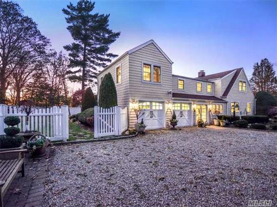 Enjoy The Best The North Shore Has To Offer! This Gracious Home Has Been Renovated To Perfection. Chefs Kitchen, Large Master Suite W/Spa Bath, Radiant Heat, Anderson Windows, Closet Systems, Generator. Private & Serene Property With Specimen Trees And Plantings. Half A Block From The Water. Amazing Value In This Sought After And Exclusive Community!!