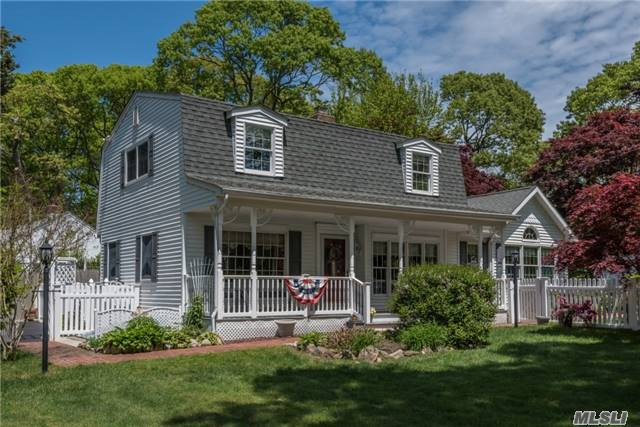 Charm Abounds In This Traditionally Styled Colonial! Distinguishing Features Include Large Fdr, And Great Room With Vaulted Ceilings, Beautiful Millwork And Custom Picture Window.  Young Roof, Siding, Windows, Kitchen, Baths, Wood Floors, Cac, Igs. This Home Has Been Meticulously Cared For And Is In Wonderful Condition. A Place You Will Be Proud To Call Home!
