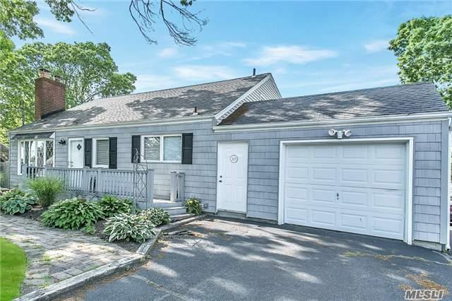 Clean, Well Maintained Cape. The Home Features A Spacious Living Room W/ Fireplace, Eat In Kitchen, Formal Dining Room, 5 Bedrooms, 2 Full Baths, Wood Floors Through Out, Full Finished Basement W/ Outside Entrance, Private Yard W/ Semi In Ground Pool, 1 Car Attached Garage W/ Expanded Driveway.