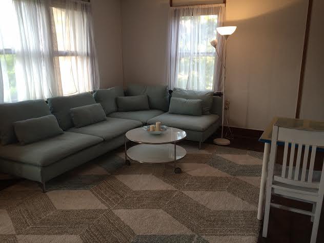 Second floor apartment. New furnishings. Ocean Block.