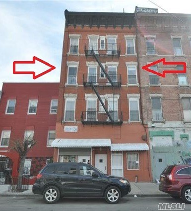 Entire Building Vacant On Title-Brick Mixed Use. 7 Families + 2 Stores. Each Apt. Has 4 Rooms, 2 Bedrooms. Located Just Off Broadway Ave In Bushwick Brooklyn. 2 Block To M, Z & J Lines . Short Distance To L Train