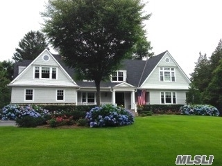 Exquisitely Designed 5 Bedroom, 5.5 Bath Hampton Style Colonial Is First Silver Certified Leed Home On Li. Quality Craftsmanship Grand 2 Story Entry, Mbr Suite W/Fpl, His & Hers Baths, 1st Floor Jr Mstr W/Bth, 2nd Floor Private Wing Bedroom W/Bath. Loft, Bck Stairwy, 9Ft Ceilings, Waterviews, Covered Porches, Private Bay Crest Beach With Dock, Activities, & Mooring Rights