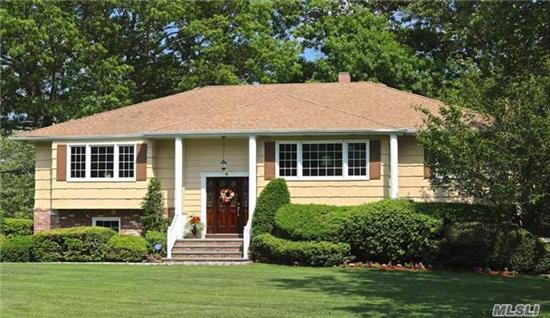Sophisticated & Lovely.This Beautiful Home Is Spacious & Elegant.It Offers A Versatile Floorplan That Provides Rm For Everything & Everyone.12 Rooms In All: Formal Living & Dining Rms, Oversized Family Rm, Den, Lg Eik, Home Office, Master Suite W/Bath, 3 Addl'bdrms, 3 Full Baths In All, Plus 2 Car Garage.All Set On Meticulously Maintained Grounds W/ Built In Pool.Move In & Enjoy!
