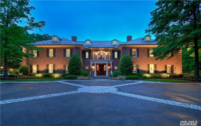 *Price Reduced* This Exceptional Res Blt By John Kean Exudes The Epitome Of Elegance/Charm. Sited On 2+ Mag. Manicured Acres W/Sparkling Pool, Lg Patio, Cabana, Tennis Ct & Golf Hole. Perf For Entertaining. Lux. Mstr Ste On Main W/Spa Bth. Large Entertain.Area+ Bar On 2nd Lvl, Chef's Grmt Eik + Famrm.Impressive Res W/Unparalleled Luxury On N.Shore's Goldcoast. Jericho Sd.