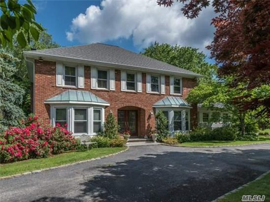 Exquisite Colonial On Park-Like Shy Level Acre! Features Spacious Updated Eik, Granite, Ss Appl., Radiant Heat Flr, Butler Pantry, Gleaming Wd Flrs, Crown Moulding, Cac, Formal Lr W/ Cozy Fireplace, French Door To Fam. Rm, Igs. Upd. Incl. Roof, Siding, Windows, Hw Heater. Prof. Landscaped Yd Abutting Preserve W/ Paver Patio, Pergola, Outdoor Lighting & Hot Tub. Serene Living