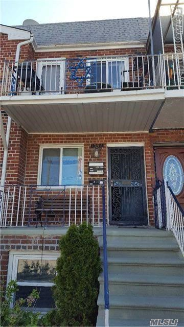 A Two Family Home Is For Sale In Canarsie. There Is A 3 Bedroom, 1 Bathroom Unit; A 2 Bedroom, 1 Bath Unit Over Garage And Full Finished Basement. Both Kitchens Have Stainless Steel Appliances And Both Apartments Have A Balcony. This Home Is In Close Proximity To Buses, Parks And Conveniences.