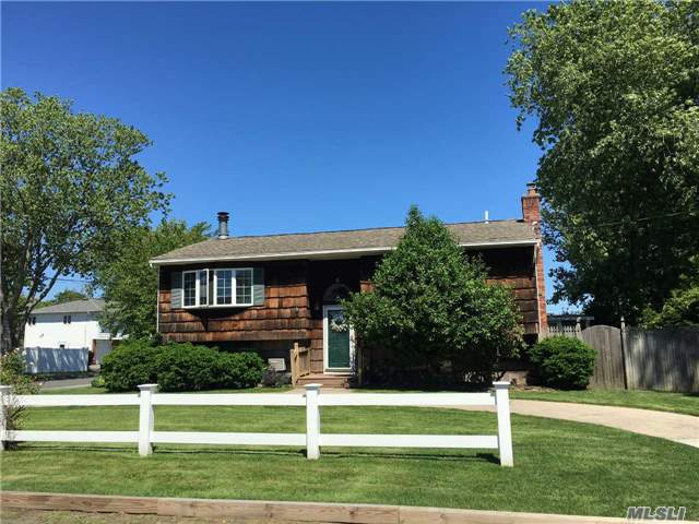 No Flood Insurance Needed - Zone X. Large Hi-Ranch With Circular Driveway On Manicured Property. Updated Kitchen With Dinette Area. Living Room With Fireplace , Hardwood Floors Throughout. Make Room For Mom - Possible M/D With Proper Permits. Close To Tanner Park, Shopping, Mass Transportation, And Beach.