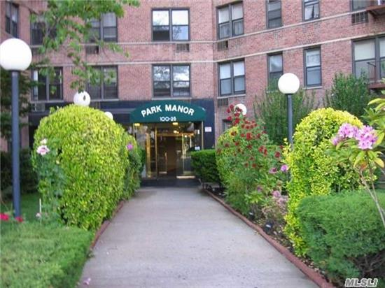 Very Unique Opportunity! Combined Huge Unit Features Extra Large 4 Bedrooms + Den ,  2 Bath, 2 Balconies And A Studio Apartment ( Originally Converted From Two 2 Bedroom Apartments) With Amazing City Views. Building Situated In The Heart Of Forest Hills, Steps To All Shopping.Transportation And Trains, New York Sports Clubs, Starbucks Coffee Shops. Won't Last!
