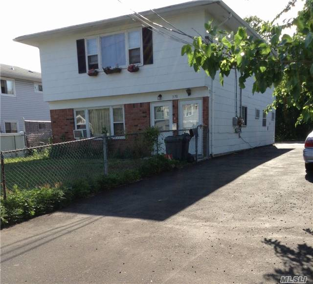 Excellent Investment Opportunity. 2 Family Duplex Is Being Sold Already Rented With Long Time Tenants. This 6 Bedrooms, 2 Baths Investment Home Needs Some Minor Cosmetic Work Outside Otherwise In Excellent Condition. Driveway Repaved 2 Years Ago. Separate Electric. Close To Shopping Centers. May Take Time To Show, Be Patient.