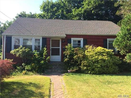 Perfect Starter Home Which Can Be Your Dream Home With A Little Tlc, 3 Bedrooms, 2 Bathrooms On Dead End Block In North Uniondale. Finished Basement And Very Sizable Lot.