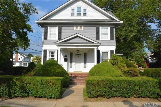 Lovely Colonial, Large Rooms, Eat In Kitchen.. Gorgeous Wood Floors, Formal Dining Room, Newer Roof, Newer Siding, Newer Furnace And Water Main To House..Beautiful Sun Room. In Ground Sprinkler System. Must See.
