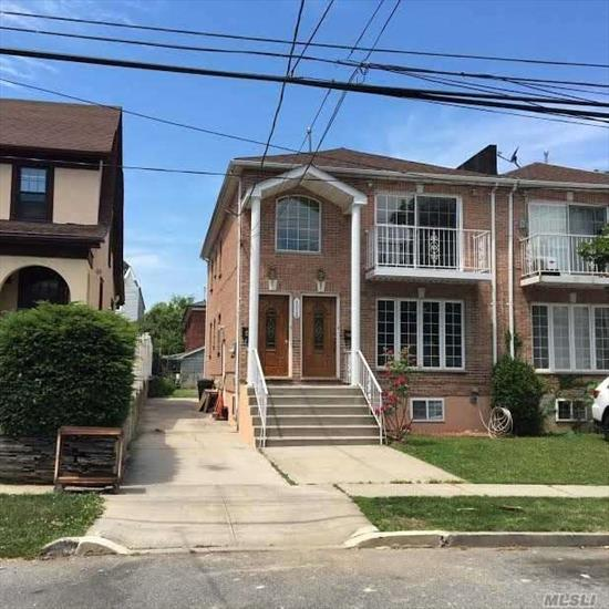 Great Rental Income On This 2 Family House, Features. 3 Over 3 Bedrooms/ 4.5 Baths,  Jacuzzi On Master Bath, Hardwood Floors Throughout,  Stainless-Steel Appliances, Large Finish Bsmt, Manicure Backyard, Balcony On 2nd Fl, Convenient Location Close To Major Highways,  & Commercial Area.