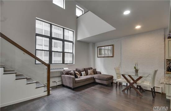 This Stunning Duplex In The Heart Of Bk Features A New Granite Kitchen W/ Brand New Ge Appliances, Spacious Lr W/ Soaring Ceilings & Full Wall Of Exposed Brick, Brand New Bathrooms, Loft Style Mbr Suite W/ Brand New Built-In Closet Unit! Same Floor Laundry & Storage Units! 1/2 Block From 2, 3, 4, 5&R Trains(1 Stop To Manhattan). Close To All Major Shopping & Restaurants!