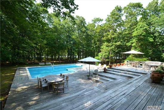 Taxes Reduced!!! Spectacular North Fork Setting Of Over 18 Waterfront Acres! 3, 000 Linear Feet Of Waterfront With Incredible Views. Lodge Style Home Designed For Entertaining Offers Pool And Tennis Plus Abandoned 'Boat House' - An Ideal Compound - Private Yet Convenient To All.