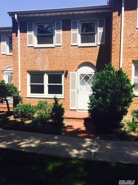 Freshly Painted, Gleaming Wood Floors, Private Terrace, Close To All! Brick Townhouse
