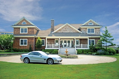 You can recreate that feeling of being on vacation everyday when you own this five bedroom retreat on the brink of Moriches Bay. Gracious open floor plan with room for all. Separate media room/guest room with very clever Murphy Beds. Master bedroom suite with sitting area and private deck for viewing the stars. Dine on your covered porch overlooking a beautiful pool or hop in your boat docked in a private canal and head out for a day of fun and dining on the Moriches Bay.