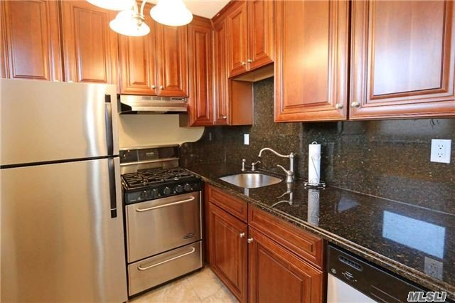 Move Right In! Bright, Top Floor 1 Bedroom Apt W/ Renovated Kitchen & Bathroom Is A Few Short Blocks To Lirr Train Station And Town On A Quiet Street. The Huge Br W/ Large Floor To Ceiling Closet. A/C's In The Wall, Hardwood Floors, Laundry On Lobby Level. Pkg In Outdoor Lot Avail, $45. Wait List For Indoor Garage Pkg, $55. Great Neck Park District. Great Neck South Schools