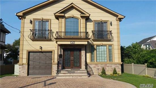 Magnificent 1 Year Old Custom Built Colonial In The Heart Of Cedarhurst. 5 Bedrooms On 1 Level. Oversized Yard, Many Amenities And Upgrades. Taxes Have Not Yet Been Re-Assessed.