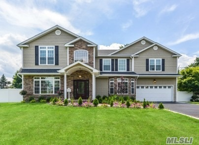 Stunning Brand New Colonial On Flat 1/2 Acre In Desirable North Syosset Neighborhood. This 5 Bedroom, 3.55 Bath Home Boasts 2-Story Grand Entry Foyer, Hardwood Flooring Throughout, Beautiful High End Detailed Moldings & Millwork, Chefs Kitchen With Center Island & Top Of The Line Appliances, Designer Baths W/Marble. The Epitome Of Design & Elegance W/ Quality Construction!