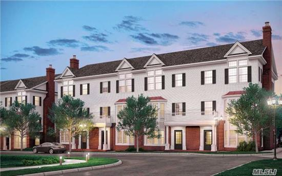 Introducing Roslyn Landing, A Limited Collection Of Townhome Condominiums Located In The Historic Village Of Roslyn. This 2Br/3Ba Duplex Features A Modern Open Living Area With Access To A Private Balcony, A Spacious Master Suite And Abundant Walk-In Closets. A Truly Unique Opportunity For Luxurious And Maintenance-Free Living On Long Island's Gold Coast.