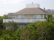 Huge beautiful ocean view, renovated beach house. Beautiful bedrooms, kitchen, large dining room, large living room, plenty of room for kids!! right next to beach. Great Ocean Views from upstairs bedrooms and deck. Open from now to LD. 6 bedrooms, 2 bathrooms, etc.. Much to enjoy in this finer home!