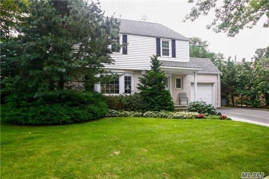 Immaculate, Updated, Expanded Colonial, W. Large Master Suite Has A Huge Walk In Closet And A New Large Bath W. Granite. Big Open Kitchen W. Large Island, Granite Counters, Den, Living Room W. Fireplace And Bay Windows. Centrally Located On A Quiet Block.