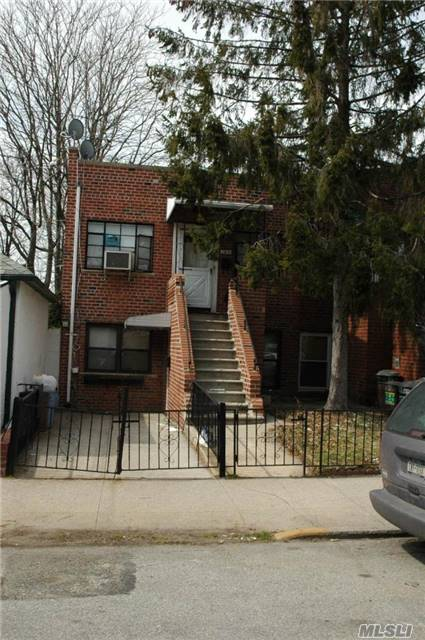 2 Family 100% Brick, 2 Bedroom Apt. Over 2 Bedroom Apt. Private Driveway, Walking Distance To Transportation. Schools, Shopping Area Etc...